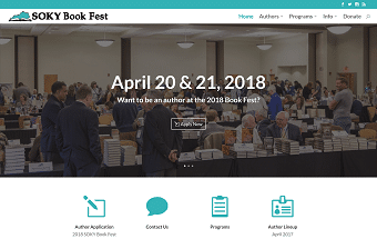 sokybookfest.org home page